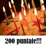 News: 200 puntate! O_o Stiamo invecchiando! :-)