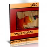 """Copertina del racconto umoristico """"2040"""" di Simone Sacchini"""