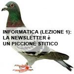piccione viaggiatore come metafora della newsletter