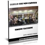 """Copertina del racconto umoristico """"Quello che non capisco"""" di Simone Sacchini"""