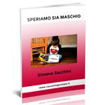 """Copertina del racconto umoristico """"Speriamo sia maschio"""" di Simone Sacchini"""